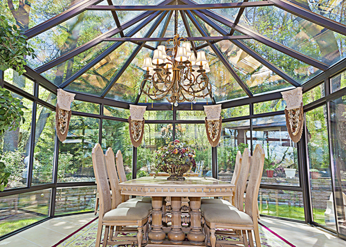 photo of sunroom